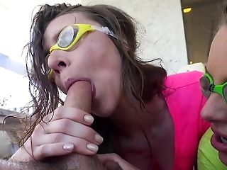Babe, Blowjob, Cowgirl, Dick, Extreme, Facial, FFM, HD, Oral Sex, Riding,