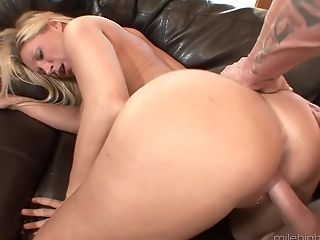 Big Tits, Blonde, Blowjob, Couple, Cowgirl, Devon Lee, Doggystyle, Experienced, Fake Tits, Hardcore,