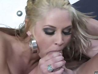 Blonde, Couple, Cute, Doggystyle, Fake Tits, Hardcore, MILF, Titjob,