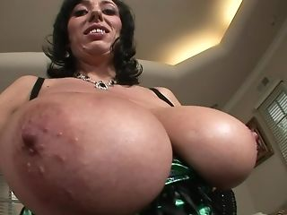 Alia Janine, Babe, Bathroom, Big Tits, Bobcat, Couple, Hardcore, Huge Tits, MILF, Natural Tits,