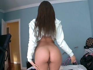 Anal Toying, Ass Licking, Bedroom, Brunette, Dildo, Hardcore, Jynx Maze, Reality, Rimming, Sex Toys,