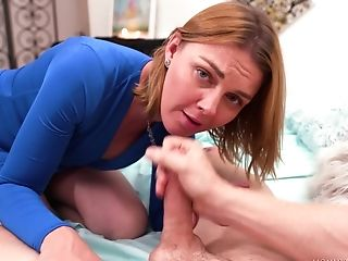 Babe, Blowjob, CFNM, Clothed Sex, Couple, Handjob, Hardcore, Marie Mccray, Mature, POV,