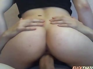 Babe, Boyfriend, Clamp, Couple, Cowgirl, Hardcore, Riding, Thick Cock, Webcam,