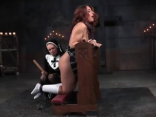 BDSM, Bondage, Femdom, Fetish, Ginger, Mature, Naughty, Nuns, Punishment, Redhead,