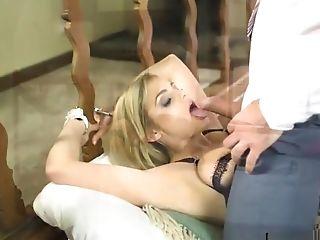 Big Natural Tits, Big Tits, Blonde, Blowjob, Doggystyle, Handcuffed, Hardcore, HD, Pussy, Stockings,