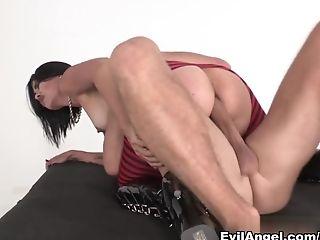 Anal Sex, Big Ass, Big Tits, Dana Vespoli, Ethnic, Facial, MILF, Pornstar, Stockings,