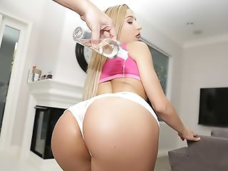 Anal Sex, Big Ass, Blonde, Boobless, Boots, Caucasian, Curvy, Girlfriend, Hardcore, HD,