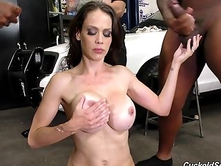 All Holes, Black, Gangbang, Hardcore, Interracial, Pornstar, Reality, Uniform,