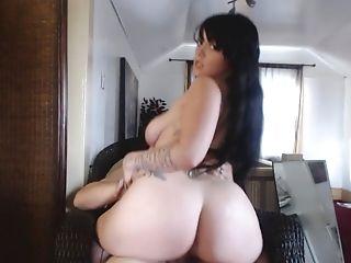 BBW, Big Ass, Big Black Cock, Black, Brunette, Dick, HD, Pawg, Riding,