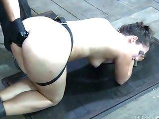 BDSM, Bondage, Cage, Charlotte Vale, Dick, HD, Rough, Whore,