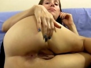 Ass, Brunette, Clamp, Close Up, Cunt, HD, Homemade, POV, Pussy, Shaved Pussy,
