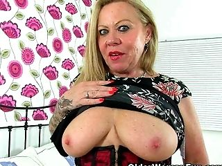 British, Granny, Mature, MILF, Old,