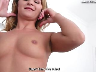 Ass Licking, Blowjob, Boobless, Brunette, Casting, College, Cowgirl, Cumshot, First Timer, Hardcore,