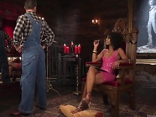 Anal Sex, BDSM, Bondage, Femdom, HD, Interracial, Misty Stone,