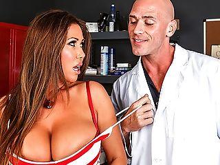 Big Tits, Brunette, Condom, HD, Kianna Dior, MILF, Pussy,