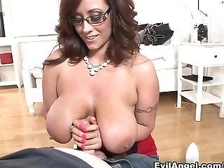 Big Tits, Eva Notty, Horny, MILF, Pornstar, POV, Redhead,