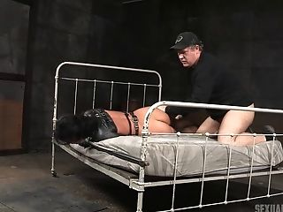 Babe, BDSM, Blindfold, Bondage, Cute, Fetish, Horny, Leather,