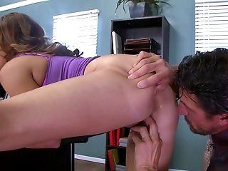 Big Tits, Blowjob, Classroom, College, Cum In Mouth, Cumshot, Desk, Extreme, HD, Office,