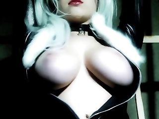 Big Tits, Black, Black Cat, Ginger, HD, Striptease,