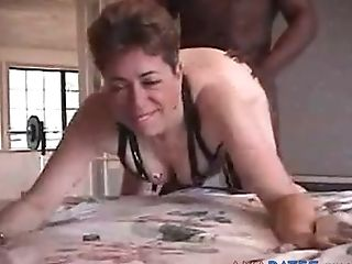 Amateur, Big Black Cock, Fucking, Granny, Mature, Short Haired, Slut, White, Wife,