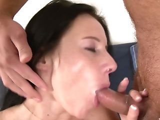 Big Tits, Blowjob, Bra, Couple, Dick, Enza, Hairy, Hardcore, Missionary, Moaning,