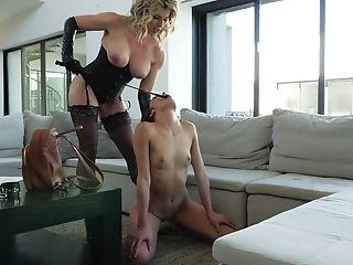БДСМ, Cory Chase, фемдом, фетиш, секс игрушки, шлепанье, сабмиссив,
