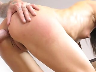 Ass, Babe, Cum On Ass, Cumshot, Desk, Doggystyle, Hardcore, HD, Office, Oral Sex,