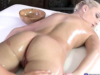 Anna Rose, Penetração Dedos, Lésbicas , Massagem , Estrela Pornô,