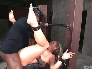 BDSM, Blonde, Dungeon, Fetish, Submissive,