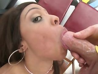 Anal Sex, Ass, Black, Blowjob, Clamp, Close Up, Cum In Mouth, Cumshot, Deepthroat, Doggystyle,