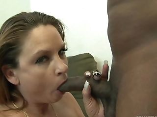 Amanda Blow, Big Black Cock, Couple, Cum, Cum Swallowing, Interracial, Long Hair, Mature, Pornstar, Whore,