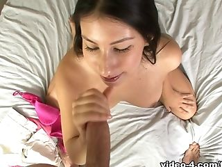 минет, окончание, глубокая глотка, Esperanza Diaz, Facial, Horny, латиноамериканки, порнозвезда, от первого лица,