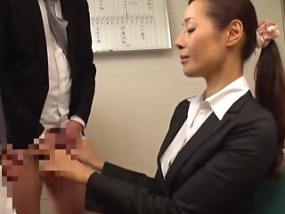 Blowjob, Business Woman, Cum, Cum In Mouth, Cum Swallowing, Cumshot, Ethnic, Gangbang, Gokkun, Handjob,