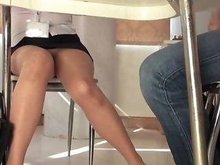 Brunette, Couple, Cunnilingus, Fingering, Handjob, Hardcore, Japanese, Mature, Miniskirt, Natural Tits,